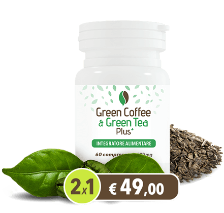 (HTF) GREEN COFFEE & GREEN TEA PLUS 2X1